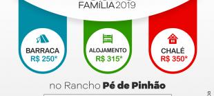 Inscrições abertas para o Retiro da Família 2019