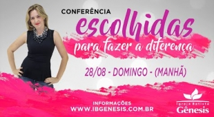 Conferência de Mulheres - Domingo de manhã (28/08)