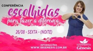 Conferência de Mulheres - Sexta (26/08)