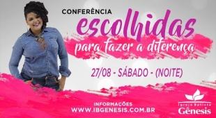 Conferência de Mulheres - Sábado a noite (27/08)